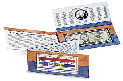 Making American History Coin and Currency Set