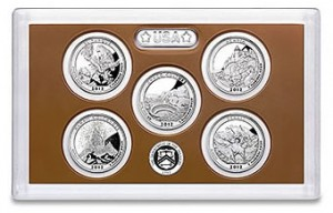 2012 America the Beautiful Quarters Proof Set Sold Out