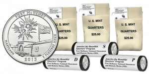 Starting Sales of 2013 Fort McHenry Quarters vs. Past ATB Quarters