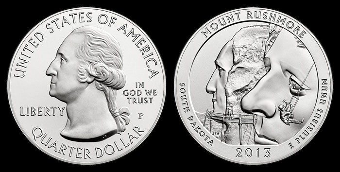 Mount Rushmore 5 Oz Silver Coins Score Highest Debut Sales