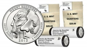November Product Schedule | Mt. Rushmore Quarters, Coins Lead