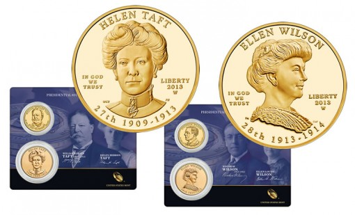 2013 First Spouse Gold Coins and $1 Coin and Medal Sets
