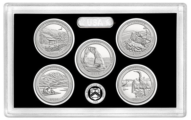 2014 atb quarters silver proof set sales debut at 46 634