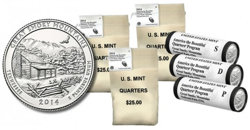 2014 Great Smoky Mountains Quarter and Products