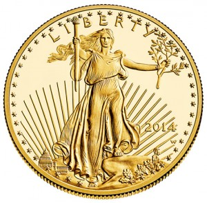 2014-W $50 Proof American Gold Eagle