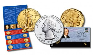 2014 Mint Set, Gold Coins, $1s and Shenandoah 5 Oz Coins for May
