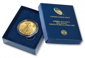 2014-W Uncirculated Gold Eagle Debut Sales Hit 1,844