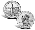 Gettysburg National Military Park Silver Bullion Coin