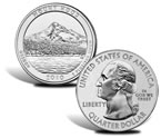 Mount Hood National Forest Silver Bullion Coin