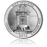 Hot Springs National Park Silver Bullion Coin