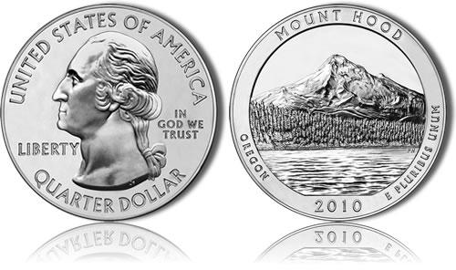 Mount Hood National Forest Silver Bullion Coin