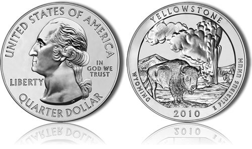 Yellowstone National Park Silver Uncirculated