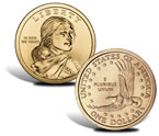 2000 – 2008 Sacagawea Native American $1 Coins