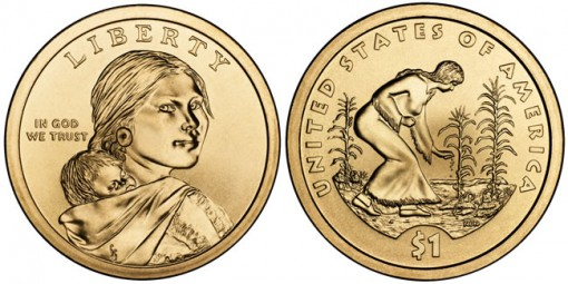 2009 Native American $1 Coins (US Mint images)