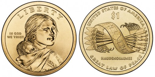 2010 Native American $1 Coins (US Mint images)