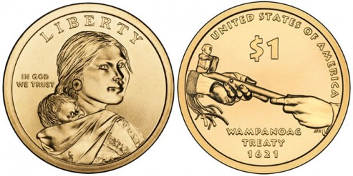 2011 Native American $1 Coins (US Mint images)