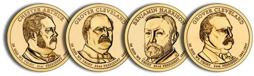 2012 Presidential $1 Coins