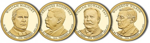 2013 Presidential $1 Coins