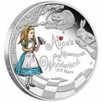 Alice in Wonderland Silver Coin