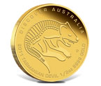 2011 Dreaming Tasmanian Devil Gold Coin