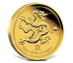 2012 Australian Lunar Series II - Year of the Dragon Gold Proof