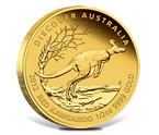 2012 Red Kangaroo Gold Proof Coin