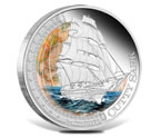 2012 Ships That Changed The World - Cutty Sark Silver Coin