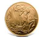 2012 UK Gold Proof Quarter - Sovereign