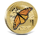 2012 Young Collectors Monarch Butterfly Coin