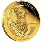 Australian Koala 1/10 oz Gold Coin
