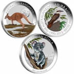 Australian Outback Colored Silver Coins