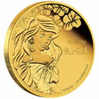 Disney Princess Ariel Gold Coin