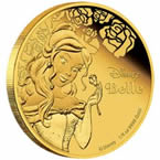 Disney Princess Belle Gold Coin