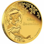 Disney Princess Jasmine Gold Coin