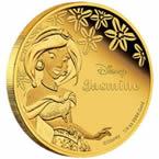 Disney Princess Jasmine Gold Coin