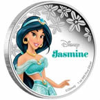 Disney Princess Jasmine Silver Coin