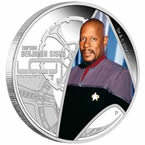 Star Trek Captain Sisco Silver Coin