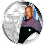 Star Trek Captain Sisco Silver Coin