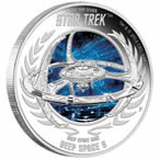 Star Trek Deep Space Nine Silver Coin