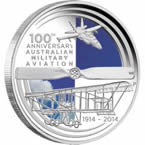 100 Years of Australian Military Aviation 2014 1oz Silver Proof Coin