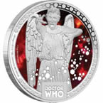 Doctor Who Monsters – Weeping Angels 2014 1/2oz Silver Proof Coin