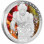 Doctor Who Monsters – Cybermen 2014 1/2oz Silver Proof Coin