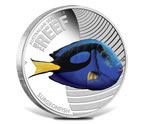 Australian Sea Life II - The Reef - Surgeonfish 1/2oz Silver Proof Coin