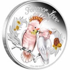 Forever Love 2014 1/2 oz Silver Proof Coin