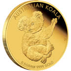Mini Koala 2013 0.5g Gold Coin