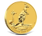 The Mini Roo 2012 0.5g Gold Kangaroo Coin