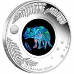 Tasmanian Devil 2014 1 oz Silver Proof Coin