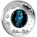 Australian Opal Series – Masked Owl 2014 1oz Silver Proof Coin