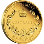 Australia Half Sovereign 2015 Gold Proof Coin