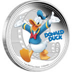 Disney Mickey & Friends – Donald Duck 2014 1oz Silver Proof Coin